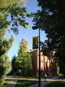 Old Main - University of Colorado first building - 1876