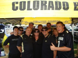 Tailgating at the Colorado v. Georgia game - 10/2/10