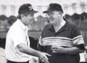 Dan Creedon with Bill McCartney