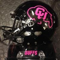 CU pink helmet