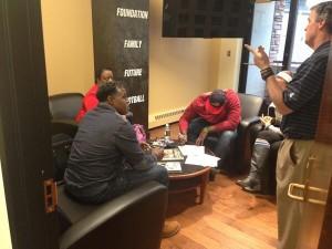 Leo Jackson signing