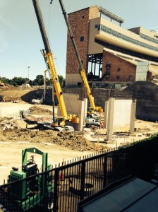 Folsom Field Northeast corner - August, 2014