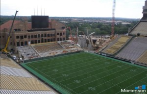 Construction update picture - August 14, 2014