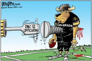 Drew Litton: CU screwed by Pac-12 officiating