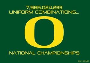 Oregon national titles