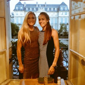 Emma and Jenny in Paris